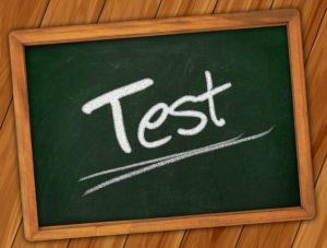 テスト 黒板